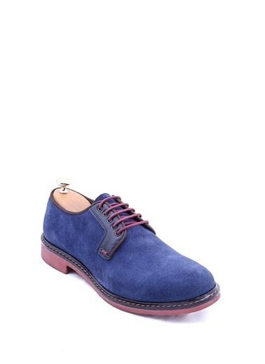 Wessi Erkek Süet Bağcıklı Klasik Ayakkabı Lacivert